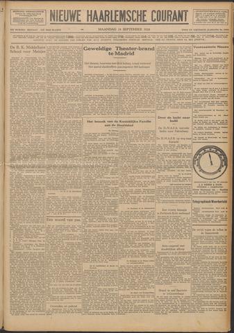 Nieuwe Haarlemsche Courant 1928-09-24