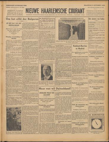 Nieuwe Haarlemsche Courant 1933-10-09