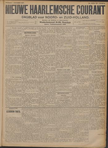 Nieuwe Haarlemsche Courant 1907-10-01