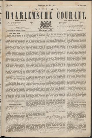 Nieuwe Haarlemsche Courant 1881-05-19