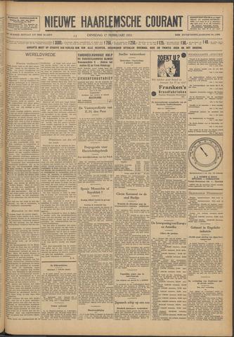 Nieuwe Haarlemsche Courant 1931-02-17