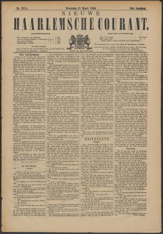 Nieuwe Haarlemsche Courant 1894-03-21