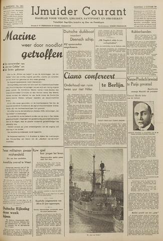 IJmuider Courant 1939-10-02