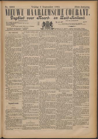 Nieuwe Haarlemsche Courant 1905-09-01