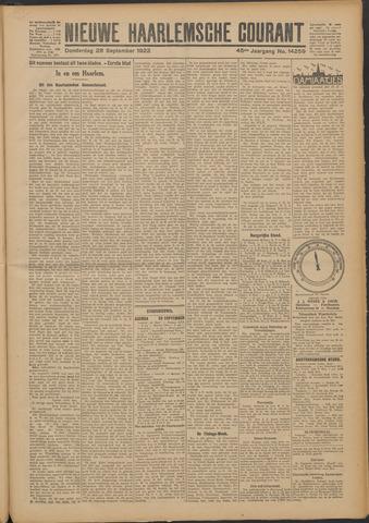 Nieuwe Haarlemsche Courant 1922-09-28