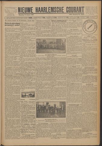 Nieuwe Haarlemsche Courant 1925-01-12