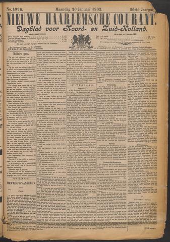 Nieuwe Haarlemsche Courant 1902-01-20