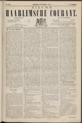 Nieuwe Haarlemsche Courant 1882-12-28