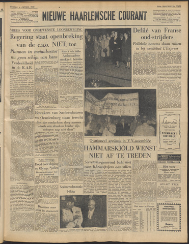 Nieuwe Haarlemsche Courant 1960-10-04