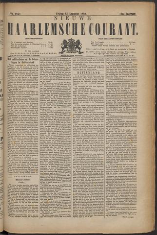 Nieuwe Haarlemsche Courant 1892-08-12