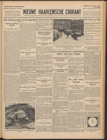 Nieuwe Haarlemsche Courant 1934-07-20