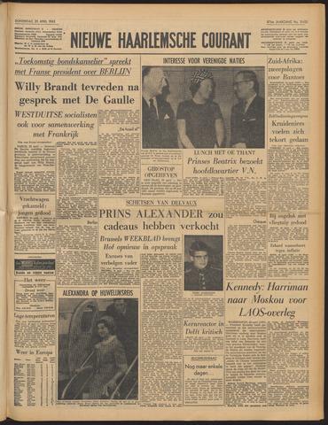 Nieuwe Haarlemsche Courant 1963-04-25