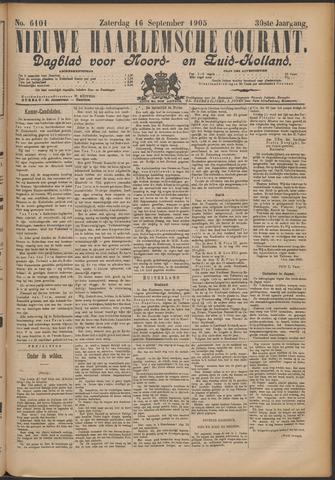 Nieuwe Haarlemsche Courant 1905-09-16
