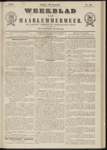 Weekblad van Haarlemmermeer 1876-08-18