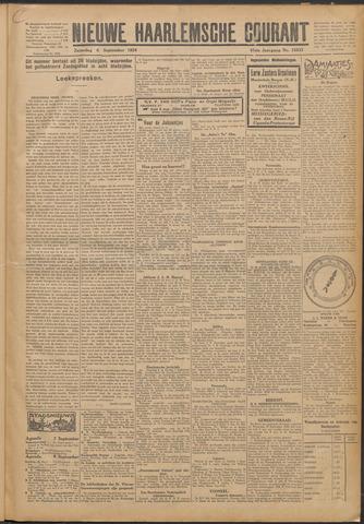 Nieuwe Haarlemsche Courant 1924-09-06