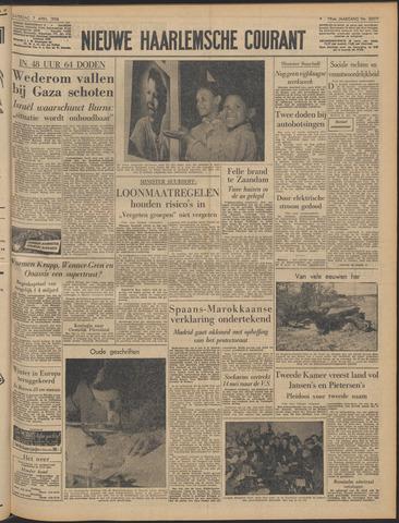 Nieuwe Haarlemsche Courant 1956-04-07