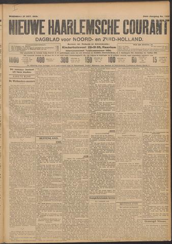 Nieuwe Haarlemsche Courant 1909-10-27