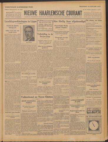 Nieuwe Haarlemsche Courant 1933-01-16