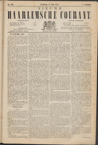 Nieuwe Haarlemsche Courant 1882-06-15