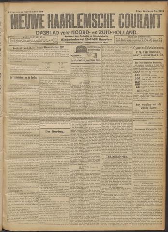 Nieuwe Haarlemsche Courant 1914-09-12