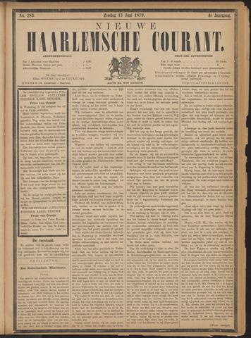 Nieuwe Haarlemsche Courant 1879-06-15