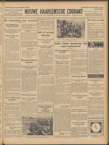 Nieuwe Haarlemsche Courant 1935-10-09