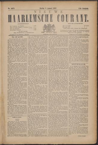 Nieuwe Haarlemsche Courant 1887-01-09