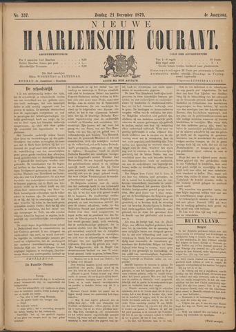 Nieuwe Haarlemsche Courant 1879-12-21