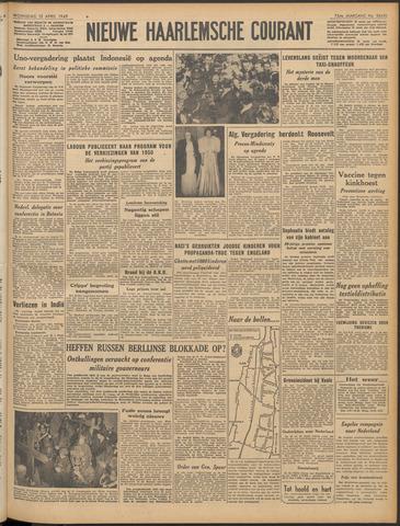Nieuwe Haarlemsche Courant 1949-04-13