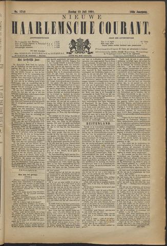 Nieuwe Haarlemsche Courant 1891-07-19