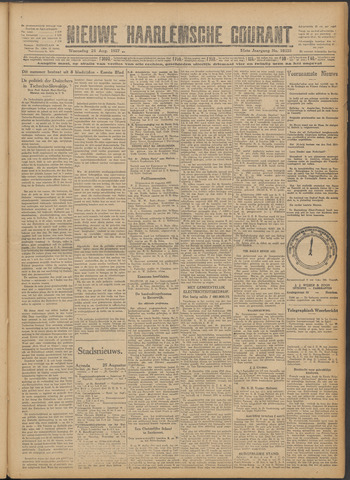 Nieuwe Haarlemsche Courant 1927-08-24