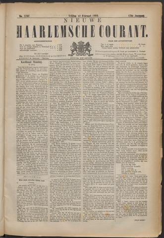 Nieuwe Haarlemsche Courant 1892-02-12