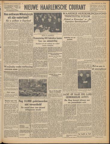 Nieuwe Haarlemsche Courant 1947-10-28