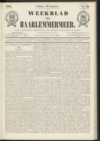 Weekblad van Haarlemmermeer 1860-08-10