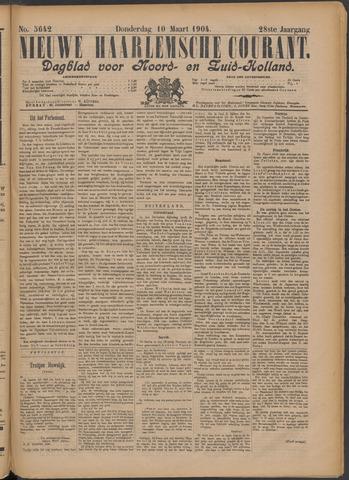 Nieuwe Haarlemsche Courant 1904-03-10