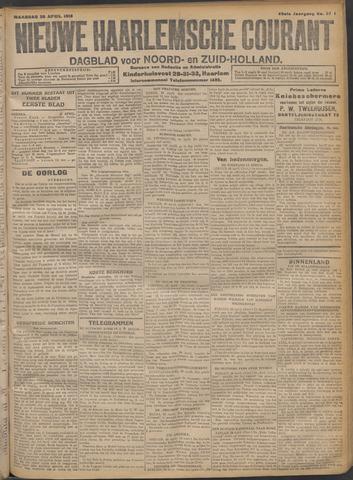 Nieuwe Haarlemsche Courant 1915-04-26