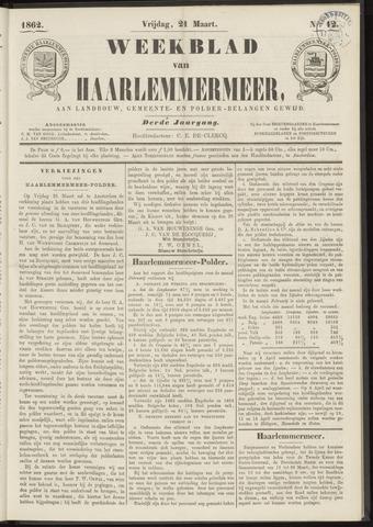 Weekblad van Haarlemmermeer 1862-03-21
