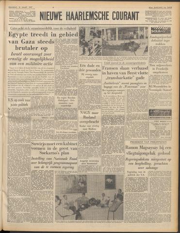 Nieuwe Haarlemsche Courant 1957-03-18