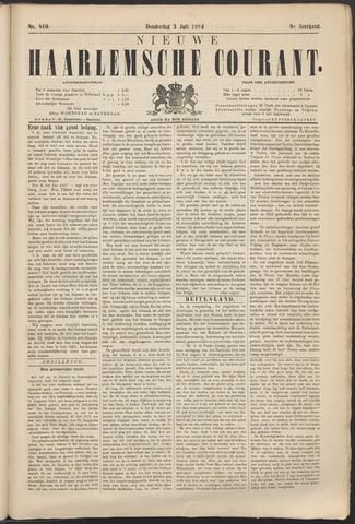 Nieuwe Haarlemsche Courant 1884-07-03