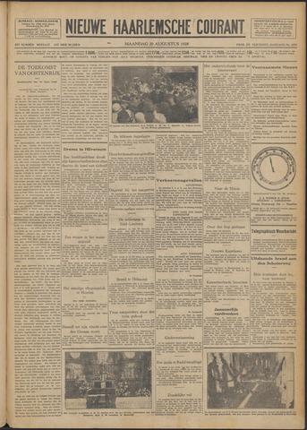 Nieuwe Haarlemsche Courant 1928-08-20
