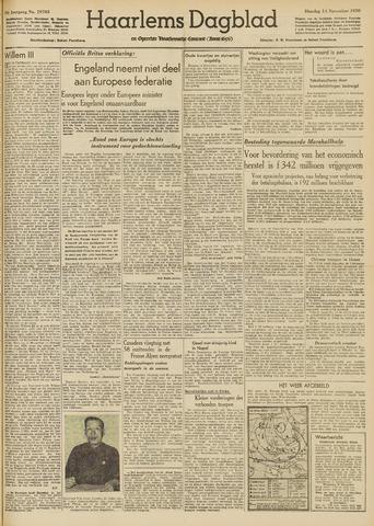 Haarlem's Dagblad 1950-11-14