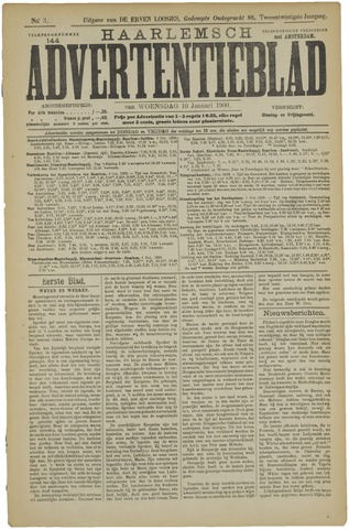 Haarlemsch Advertentieblad 1900-01-10