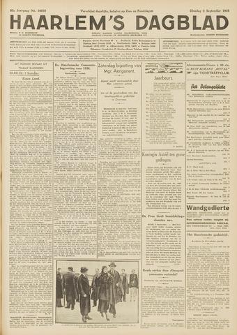 Haarlem's Dagblad 1935-09-03