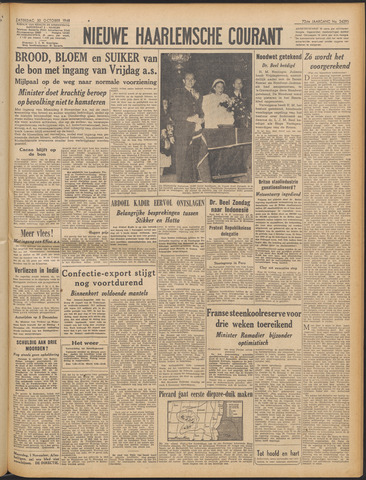Nieuwe Haarlemsche Courant 1948-10-30