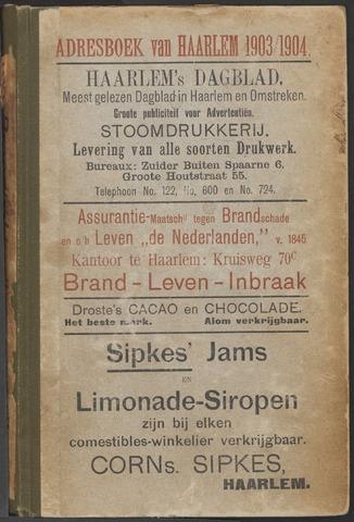 Adresboeken Haarlem 1903