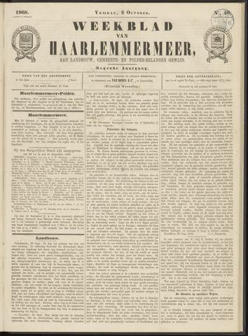 Weekblad van Haarlemmermeer 1868-10-02