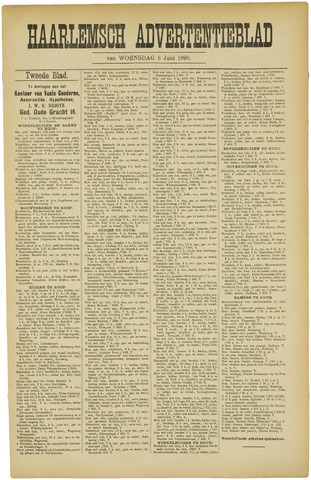 Haarlemsch Advertentieblad 1898-06-08