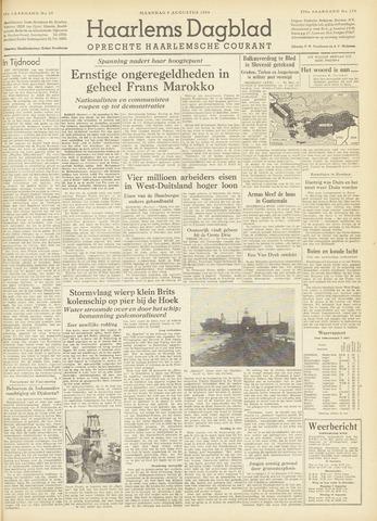 Haarlem's Dagblad 1954-08-09