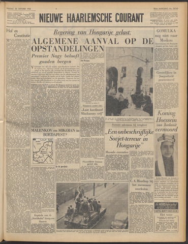 Nieuwe Haarlemsche Courant 1956-10-26