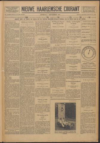 Nieuwe Haarlemsche Courant 1931-09-01